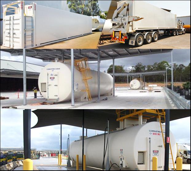 A S Harrison & Co Storage Tanks